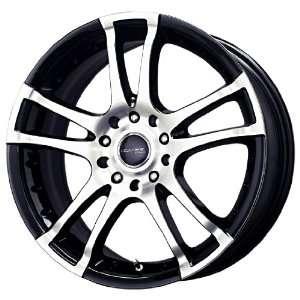Liquid Metal Venom Series Gloss Black Machined Wheel (18x7