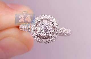 Gold 1.21 Diamond Womens Custom Engagement Ring Certified S1 G