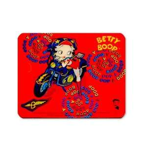 Betty Boop Lenticular Mousepad 7x8 , Animated Biker Girl