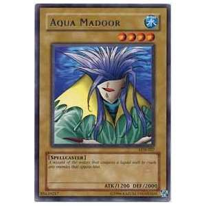 YuGiOh Legend of Blue Eyes White Dragon Aqua Madoor LOB