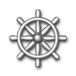 US Navy Quartermaster Rating Badge Decal Sticker 3.8