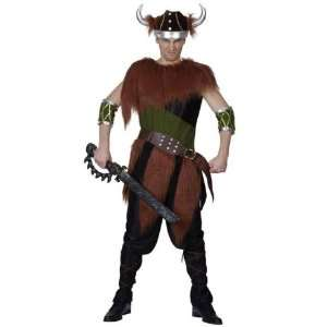 Viking Male 6pc Deluxe Fancy Dress Costume   One Size