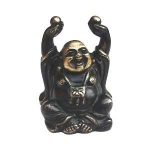 Sculpture Figurine Laughing Buddha Brass Statue Blessings