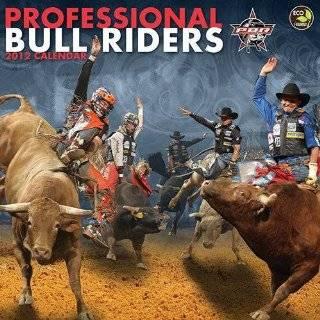 2012 Professional Bull Riders Wall Calendar
