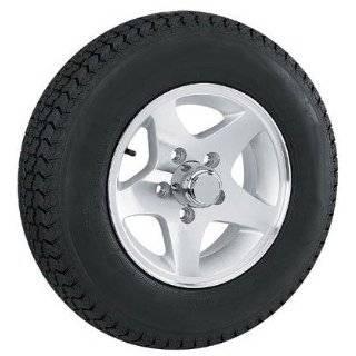 ST145R12  12 inch Star Aluminum Trailer Wheel / Tire Assembly 5 Lug