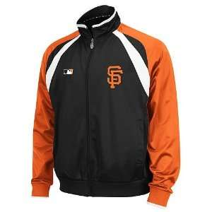 San Francisco Giants 2011 Track Jacket (Black)  Sports