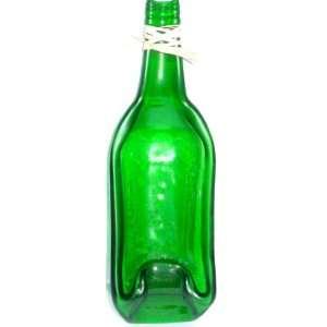 , Melted, Slumped Jameson Irish Whiskey Bottle Bowl