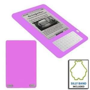 Premium Purple Soft Silicone Skin Gel Cover Case for