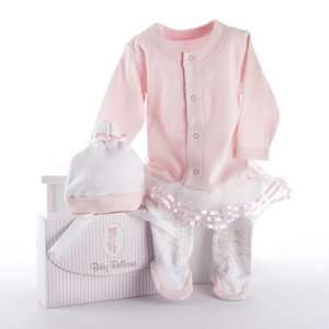 Big Dreamzzz Baby Ballerina Two Piece Layette Set in