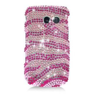 For Straight Talk Samsung R375C Accessory  Heart Bling