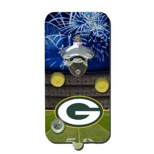 Bay Packers Clink & Drink Magnetic Bottle Opener