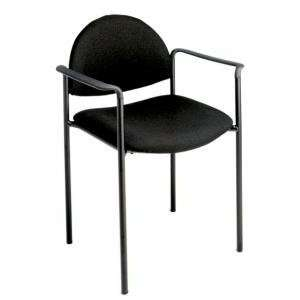 Office Star WorkSmart Value Plus Stacking Chair w/ Arms