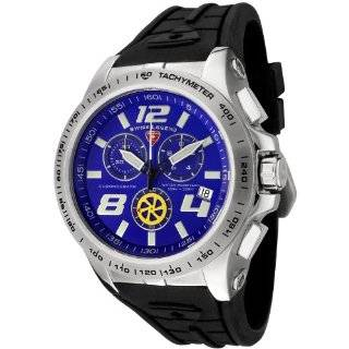 Swiss Legend Mens 80040 03 Sprint Racer Collection Chronograph Black
