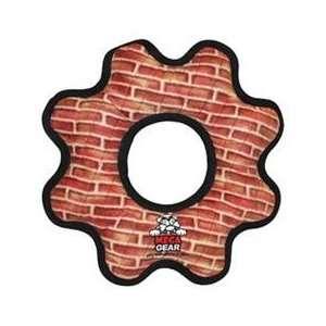 Tuffys Mega   Gear Ring   Brick Print