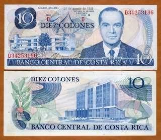Costa Rica, 10 Colones, 21 8 1985, P 237, UNC