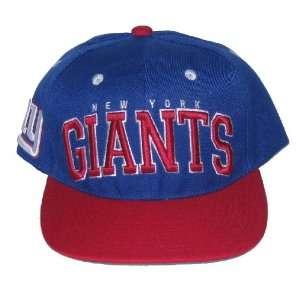 New York Giants NFL Team Apparel Flat Bill Two Tone