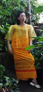 Philippines FILIPINIANA COSTUMES Blouse & Skirt SET New