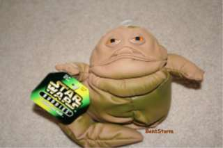 JABBA THE HUTT Star Wars Bean Bag Beanbag plush toy New