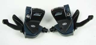 SHIMANO LX 9 SPEED RAPID FIRE SHIFTER PODS M570 MOUNTAIN BIKE BICYCLE