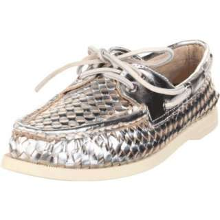 Sperry Top Sider Womens AO Woven Boat Shoe   designer shoes, handbags
