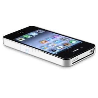Diamond Aluminium Hard Case Cover+Protector for iPhone 4 4S