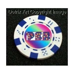 PEZ Las Vegas Casino Poker Chip limited edition