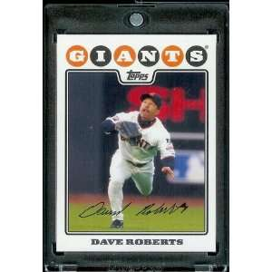 2008 Topps # 331 Dave Roberts   San Francisco Giants   MLB