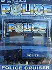 NEW GOLDEN WHEEL DIECAST POLICE TOW TRUCK CRUISER NIP