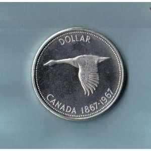 1967 Canadian Goose Dollar, KM#70