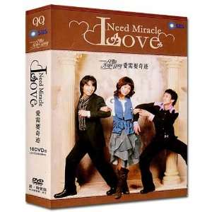 LOVE NEED MIRACLE KOREAN DRAMA 10 DVDs w/English Subtitles