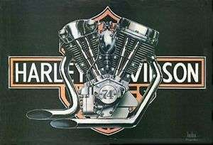 David Mann 74 Knucklead / Panhead Harley Davidson Easyrider Gloss