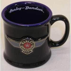 Harley Davidson USA Logo Mini Mug Shot Glass Sports