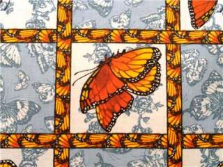 New Butterflies Butterfly Wings Blocks Insects Bugs Fabric BTY