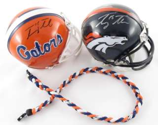 Tim Tebow Titanium Necklace Denver Broncos NFL Football Tornado GB2