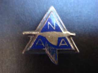 North American Aviation Vintage NAA Sterling Pin