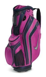 New Nike 2012 Sport Ladies Golf Cart Bag (Magenta/Silver/Navy)