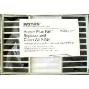 Patton Heater Plus Fan Replacement Clean Air Filter Model