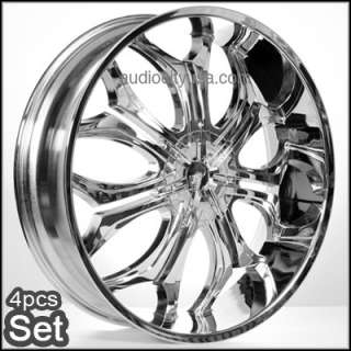 28 inch Wheels Rims Chevy Escalade Ford Ram H3 Almada