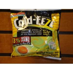 COLD EEZE NATURAL GREEN TEA WITH HONEY COLD REMEDY