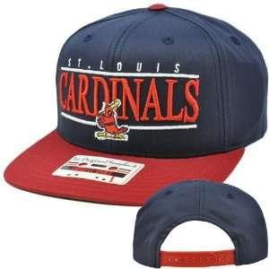MLB American Needle Nineties Twill Hat Cap Snapback Flat Bill St Louis