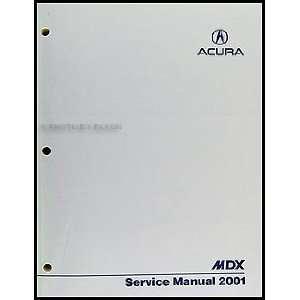 Acura Repair on 2001 Acura Mdx Repair Shop Manual Original  Acura  Books