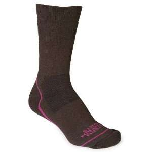 EMS Womens Fast Mountain Merino Wool Crew Socks