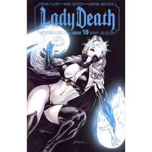 Lady Death Vol 3 #10 Variant Gabriel Andrade Wraparound