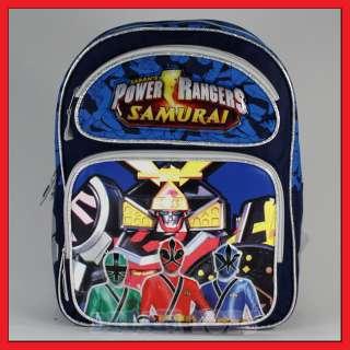 14 Power Rangers Samurai Sentai Backpack Bag Medium