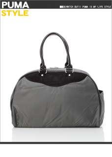 BN Puma Cabana Racer 2 Ways Duffle Gym Bag *Dark Gray*