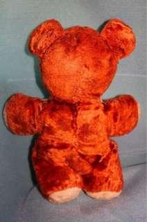 vintage brown 12 teddy bear 1950s/1960s