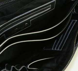 Ed Hardy Mens PAPEETE Messenger Bag Black ROPAP6504