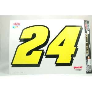 JEFF GORDON 11x17 REMOVABLE CAR TRUCK WINDOW WALL DECAL