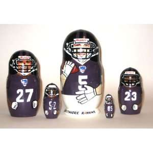Baltimore Ravens NFL Football or any team Russian Nesting