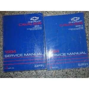 1994 Chevy Chevrole Cavalier Service Shop Repair Manual Se OEM